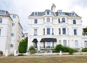 Thumbnail 2 bed flat for sale in Clifton Crescent, Folkestone, Kent