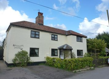 Thumbnail 4 bed detached house for sale in School Road, Ringsfield, Beccles