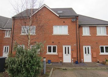 Thumbnail 3 bed town house for sale in Marsden Avenue, Queniborough, Leicester