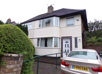 Thumbnail 3 bed semi-detached house for sale in Score Lane, Childwall, Liverpool, Merseyside