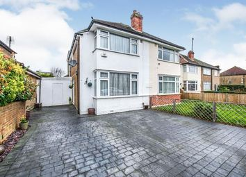 Thumbnail 4 bed semi-detached house for sale in Oakcroft Road, Chessington, Surrey, .