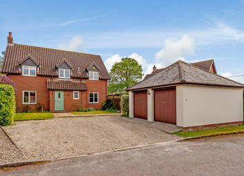Thumbnail 4 bed detached house for sale in Cedars Close, Eye, Suffolk