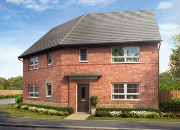 "Thumbnail 3 bedroom detached house for sale in ""Findern"" at Woodcock Square, Mickleover, Derby"
