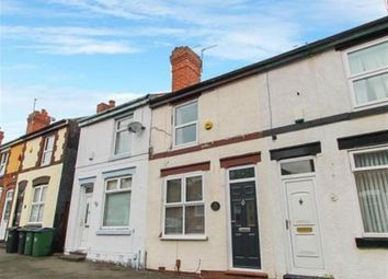 Thumbnail 2 bed terraced house for sale in Vicarage Road, Wednesbury