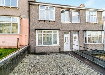 Thumbnail 3 bed terraced house for sale in Fisher Road, Stoke, Plymouth