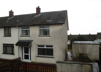 Thumbnail 3 bed terraced house for sale in Glenbane Avenue, Newtownabbey