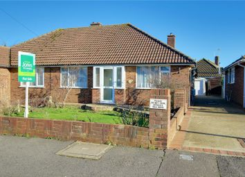 Thumbnail 2 bed bungalow for sale in Benedict Drive, Worthing, West Sussex