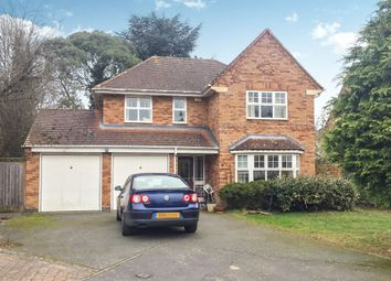 Thumbnail 4 bed detached house for sale in Meadowcourt Road, Oadby, Leicester