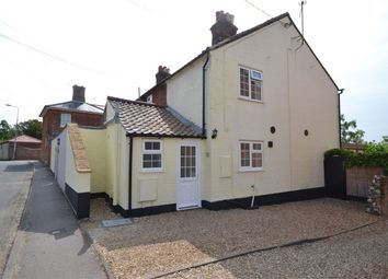 Thumbnail 2 bed end terrace house to rent in Sculthorpe Road, Fakenham