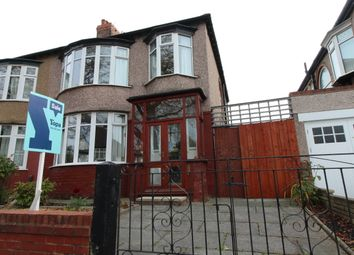 Thumbnail 3 bed semi-detached house for sale in Ashfield Road, Aigburth, Liverpool