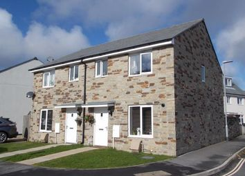 Thumbnail 3 bed semi-detached house for sale in Mabe Burnthouse, Penryn, Cornwall
