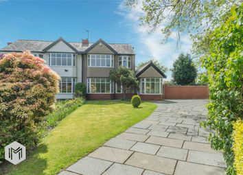 Thumbnail 3 bed semi-detached house for sale in Lostock Park Drive, Lostock, Bolton, Lancashire