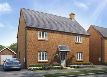 "Thumbnail 4 bed detached house for sale in ""The Chestnut"" at Ashton Road, Roade, Northampton"