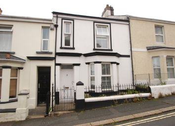 Thumbnail 3 bed terraced house to rent in Marina Terrace, Mutley, Plymouth