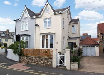 Thumbnail 4 bed semi-detached house for sale in Manor Road, Seaton, Devon