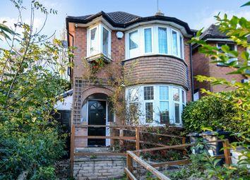 Thumbnail 3 bed detached house for sale in Shenley Fields Road, Selly Oak, Birmingham