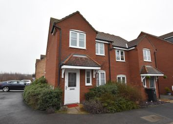 Thumbnail 3 bed semi-detached house to rent in Pedley Way, Bedford