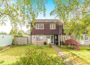 Thumbnail 3 bedroom end terrace house for sale in Jubilee Close, Ringwood