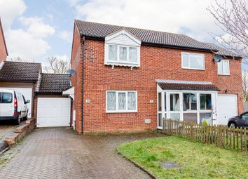 Thumbnail 2 bedroom semi-detached house for sale in Vyne Crescent, Milton Keynes, Bucks