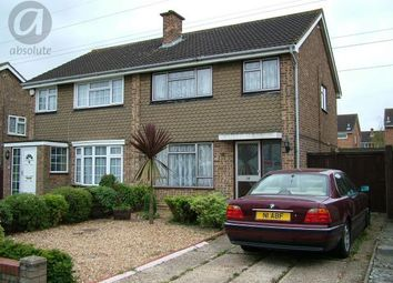 Thumbnail 3 bed semi-detached house to rent in Cawdor Close, Bedford