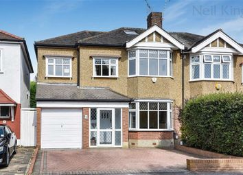 Thumbnail 5 bed semi-detached house for sale in Hurstwood Ave, South Woodford, London