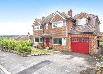 Thumbnail 5 bedroom detached house for sale in Hillary Road, Farnham, Surrey