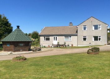 Thumbnail 4 bed detached house for sale in Tolskithy, Redruth