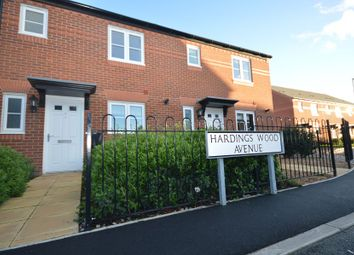 Thumbnail 3 bed mews house to rent in Hardings Wood Avenue, Sandbach