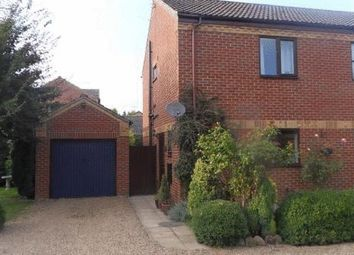 Thumbnail 2 bedroom semi-detached house for sale in Robins Close, Isleham, Ely