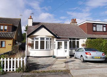 Thumbnail 2 bed semi-detached bungalow for sale in Hadleigh Park Avenue, Benfleet