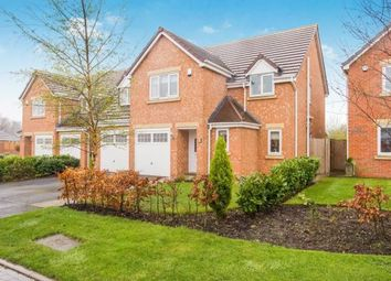 Thumbnail 5 bed detached house for sale in Leveret Court, Farington Moss, Leyland, Lancashire