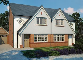 Thumbnail 3 bed semi-detached house for sale in Warren Grove, Shutterton Lane, Dawlish, Devon
