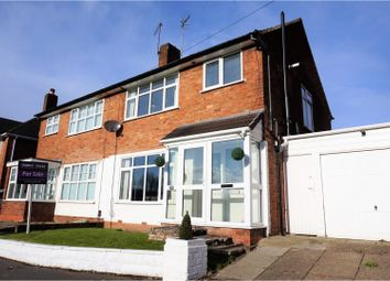 Thumbnail 3 bed semi-detached house for sale in Lawnswood Road, Wordsley