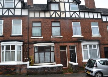 Thumbnail 4 bedroom terraced house for sale in Florence Street, Newcastle-Under-Lyme