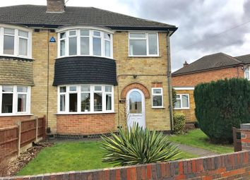 Thumbnail 3 bed semi-detached house for sale in Jean Drive, Leicester