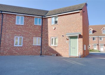 Thumbnail 2 bed flat for sale in Kingscroft Drive, Welton, Brough, East Yorkshire