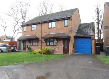 Thumbnail 3 bed semi-detached house for sale in Millers Close, Rushden