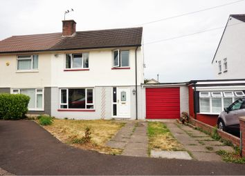 Thumbnail 3 bed semi-detached house for sale in The Close, Caldicot