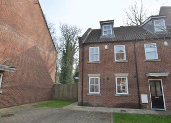 Thumbnail 4 bed end terrace house for sale in Woodlands Gardens, Scunthorpe