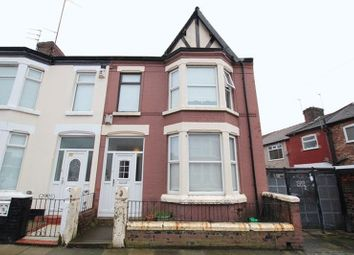 Thumbnail 4 bedroom terraced house for sale in Guernsey Road, Old Swan, Liverpool