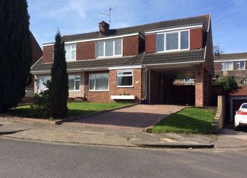 Thumbnail 4 bedroom semi-detached house for sale in Roundwood Close, Cardiff, South Glamorgan