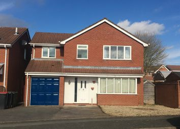 Thumbnail 4 bed detached house to rent in Repington Avenue, Atherstone, Warwickshire
