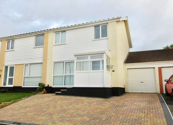 Thumbnail 3 bed link-detached house to rent in Carey Park, Helston