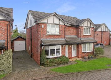 Thumbnail 3 bed semi-detached house for sale in Gowy Court, Calveley, Cheshire