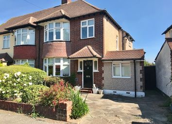 Thumbnail 3 bed semi-detached house for sale in Stafford Close, Cheam Village