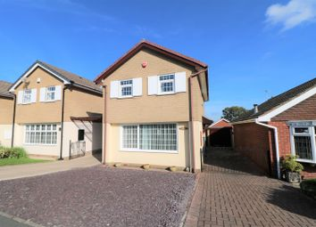 Thumbnail 3 bed detached house for sale in Hulme Close, Silverdale, Newcastle