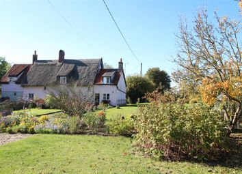 Thumbnail 3 bed cottage for sale in Saxham Street, Stowupland, Stowmarket