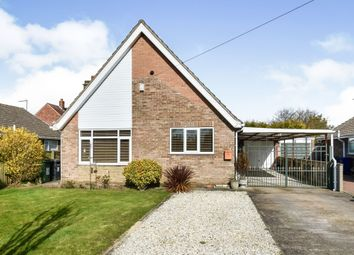 Thumbnail 3 bed detached bungalow for sale in Oaklands, Camblesforth, Selby
