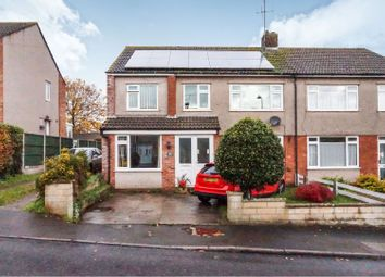 Thumbnail 4 bed semi-detached house for sale in Crockerne Drive, Bristol