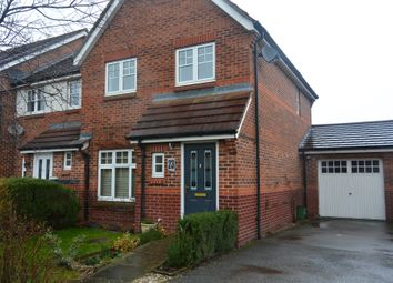 Thumbnail 3 bed town house to rent in Packhorse Drive, Enderby